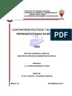 Ley de Partidos Políticos
