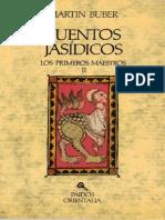 Cuentos Jasídicos - Los primeros maestros II - Martin Buber.pdf