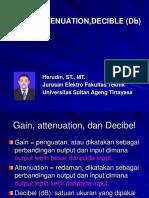 Pert. 9 (Decible (Db)