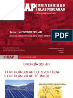 Semana 3.- Energía Solar
