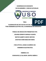 Elaboración de Una Guía de Uso Del Delta Starter Kit Para Ingeniería Eléctrica de La Universidad de Sonsonate