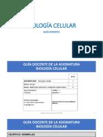 Guía Docente_Biología Celular1819