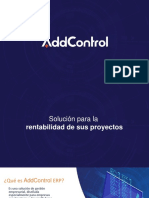 Presentación AddControl