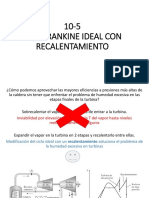 Ciclo Rankine Ideal con recalentamiento