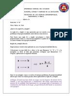 Universidad Central Del Ecuador Regla de Tres