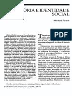 Memória e identidade social - Pollack.pdf