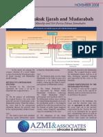 Structuring Sukuk Ijarah and Mudarabah Ahmad Lutfi Abdull Mutalip and Siti Fariza Edzua Jamaludin