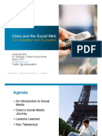 Cisco and Social Web Adoption