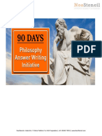 Detailed Weekly Syllabus for Philosophy