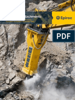 Epiroc Hydraulic Attachments Catalogue