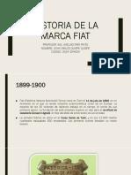Historia de La Marca Fiat