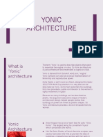 Yonic Architecture