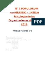 comportamiento organizacional grupal