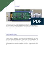 12 GHz Prescaler