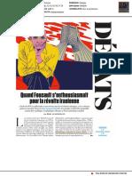 FOUCAULT Michel - Entretien Inédit de 1979 Publié en 2018