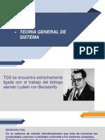 Teoria General de Sistema