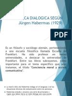 ETICA DIALOGICA SEGÚN Jürgen Habermas Exposicion