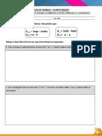 Calculando El Area de Cuadrados y Rectangulos Con La Medida de Sus Lados Forma B
