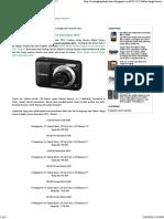 Daftar Harga Kamera Digital Canon Desember 2012