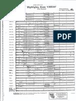 Johan de Meij - Chess, higlights from (full score e parts).pdf