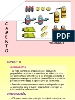 vias de administracion de formas farmacéuticas
