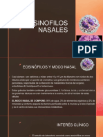 8. Eosinofilos nasales