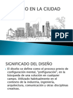 Diseño en La Ciudad