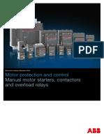 1SBC100195C0203 Short Form Motor Protection Control Edition November2016