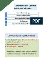 Carta de Qualidade Dos Centros Novas des [Ppt M. Alexandre 2008]