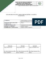 Guía de Prácticas de Química Analítica Cualitativa