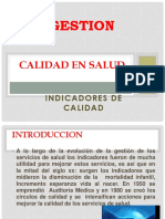 5. Calidad en Salud - Indicadores