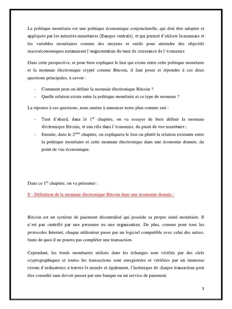 politique monétaire et Bitcoin.docx fc3c872d195