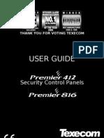 Premier 816 Quick Guide
