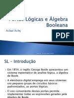 02 - Portas Lógicas e Algebra Booleana-20182