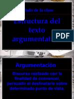 1. Estructura de Texto Argumentativo