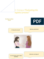 Evidencia 4 Dialogue Evaluating the Logistics Process