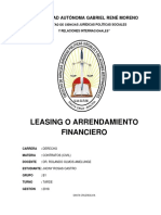 Contrato Leasing