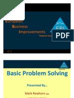 Basic Problem Solving