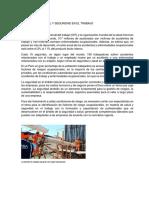 Salud Ocupacional y Seguridad en El Trabajo
