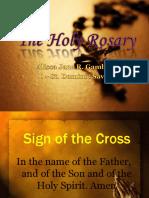 CP - Holy Rosary (Joyful Mysteries)
