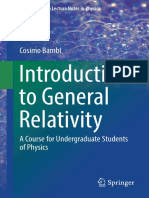[Undergraduate Lecture Notes in Physics] Cosimo Bambi - Introduction to General Relativity (2018, Springer Singapore)