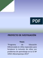 Proyecto de Ivestigación 0911