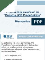 Perfiles Job Predefinidos 1.0
