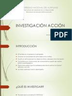 1.- Investigación Acción i