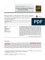 1.Perioperative Assessment of the Cancer Patient