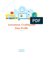 assesment grading and data