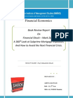 Financial Crisis - Mark Zandi ( Book Review )