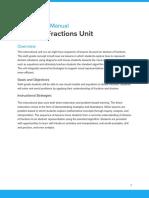 dividing fractions instructional unit