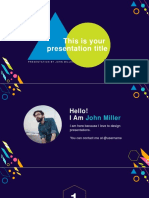Creative Free Powerpoint Presentation Template