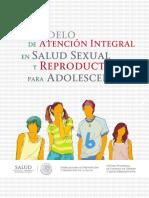 Modelo en Atencion Sexual y Reproductiva en Adolescentes